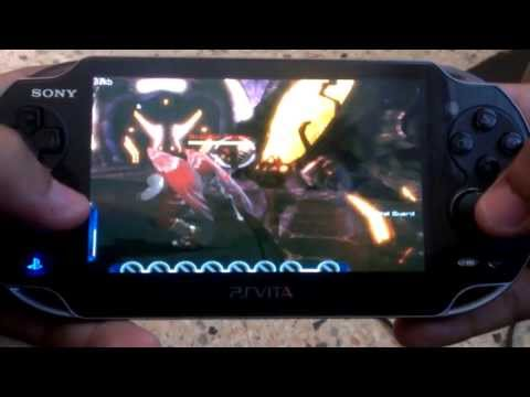 DC Universe Online en el PSVita (PSV Remote Desktop)
