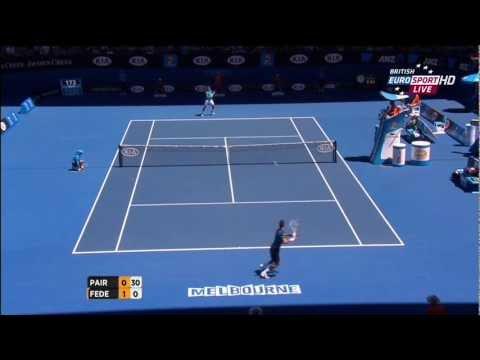 Roger Federer - Best Points @ Australian Open '13 - (HD)