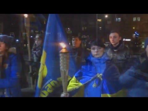 Січеславщина згадала героїв Крут під час смолоскипних маршів та інформаційних акцій
