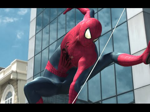 The AMAZING SPIDER-MAN in Real Life  - Animated Film