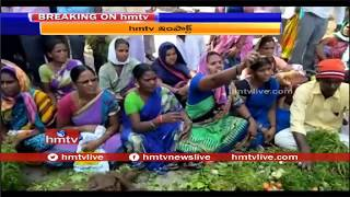 hmtv Impact | Nizamabad SI Suspended Over Attacks Vegetable Sellers