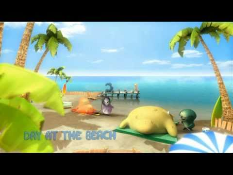 Glampersy - День на пляже -  детский мультфильм