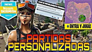 PARTIDAS PRIVADAS BRASIL!! FORTNITE: BATTLE ROYALE