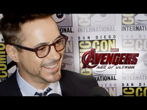 Robert Downey Jr Shares Avengers 2 Age of Ultron Details - Comic Con 2014