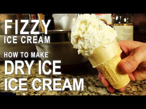 How To Make Carbonated Ice Cream.