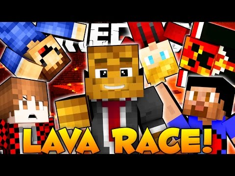 Minecraft LAVA RACE w/ The Pack