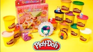 Play-Doh Hello Kitty How to Make Cookies Playdough Hello Kitty Shape Modelling Clay