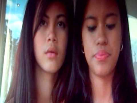 2 cute asian girls smoke