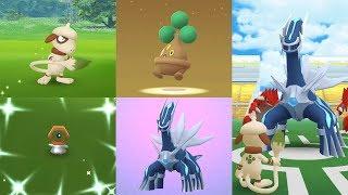 Catch Smeargle,Meltan Shiny,Dialga, Egg Bonsly - Legendary Dialga in Raid Fights Pokémon GO!