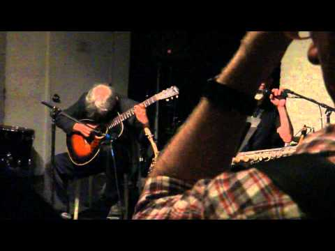 Marc Ribot&Roy Nathanson at the Stone, NYC on 09-19-2012