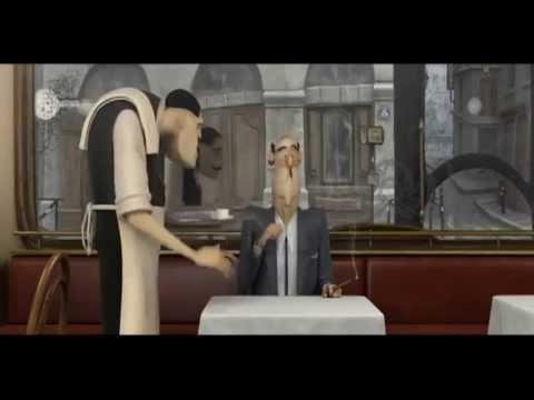 Короткий мультфильм  Французский кофе