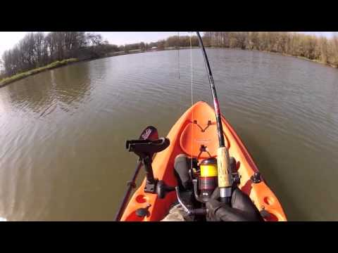 Hobie Kayak Fishing for Sturgeon