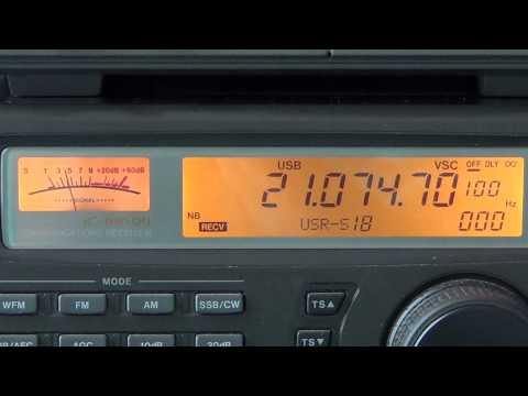 ARRL RTTY Roundup VE5MX and F5CQ 15 meters