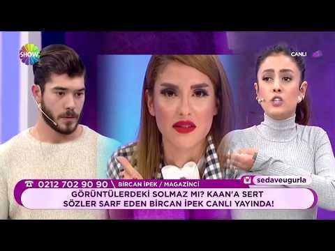 Kaan'a sert sözler sarf eden Bircan İpek canlı yayında!