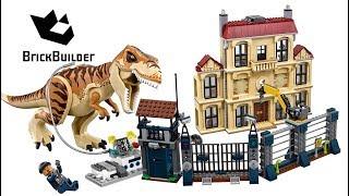 Lego Jurassic World 2018 compilation - Lego Speed build