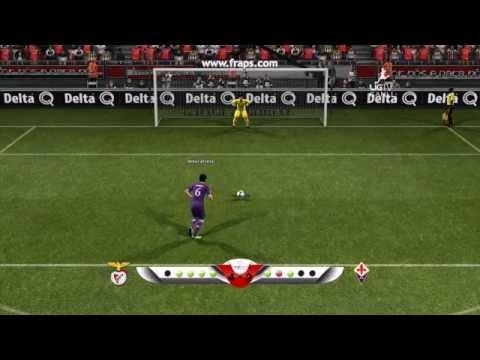 SL Benfica vs ACF Fiorentina / Penal Mikel Arteta / E-FED Amistoso Pre-Temporada