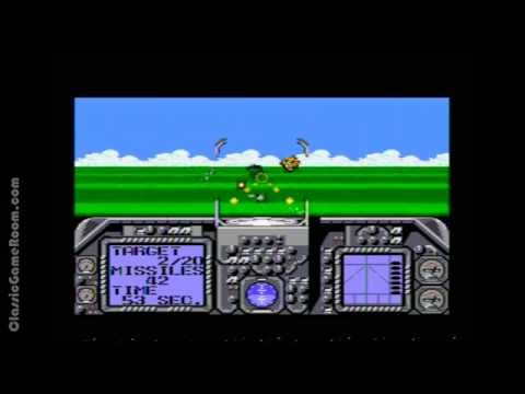 Classic Game Room - G-LOC: AIR BATTLE review for Sega Master System