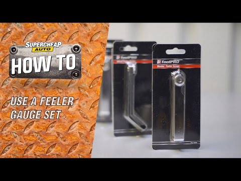Using Feeler Gauges