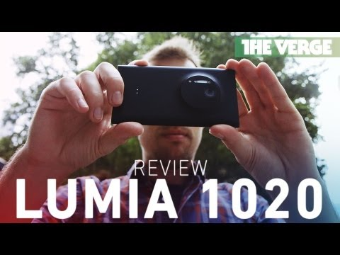 Nokia Lumia 1020 hands-on review