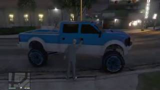 GTA V: Vapid SandKing XL, Off Road w/ Trevor