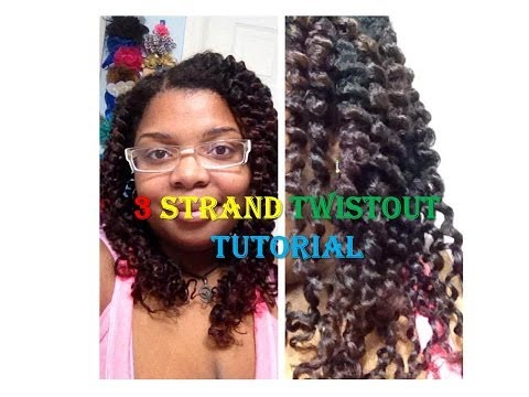 3 Strand Twist & Curl Tutorial