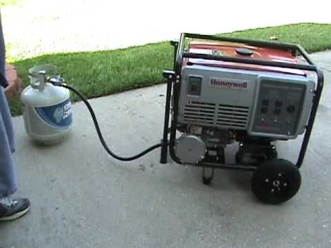 Part 1: Generator Conversion Propane test