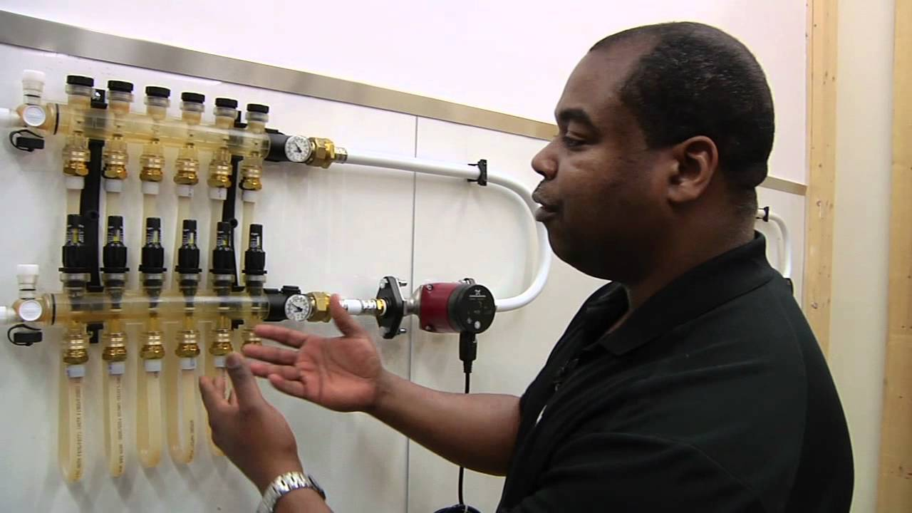 Uponor Minute Manifold Balancing Youtube