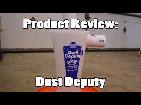 Product Review: Dust Deputy DIY For HF Blast Cabinet