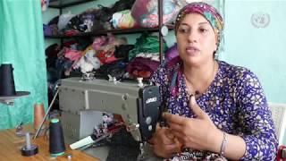 لاجئة وأرملة وأم لــ 7 أطفال ..  كيف ابتسمت لها الحياة؟