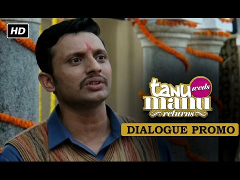 Introducing Chintuji!! Dialogue Promo | Tanu Weds Manu Returns