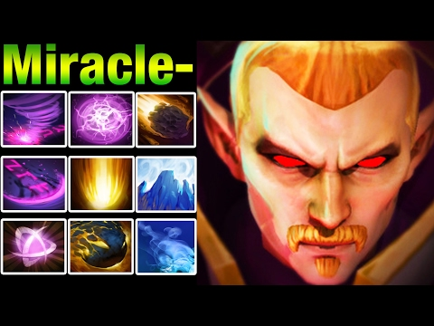 Miracle- Invoker DESTROYING In 4K Bracket - Dota 2