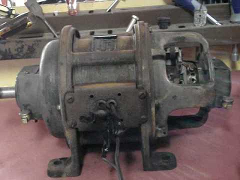 Ge Repulsion Induction Motor