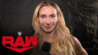 "Charlotte Flair admits ""rookie"" mistake: Raw Exclusive, Oct. 14, 2019"