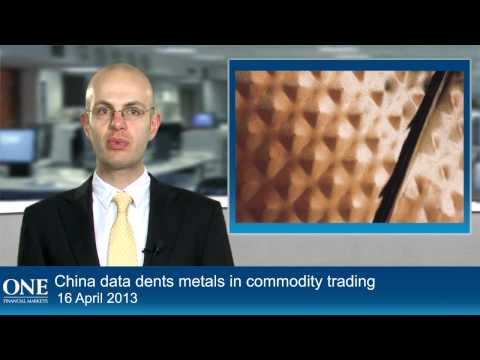 China data dents metals in commodity trading