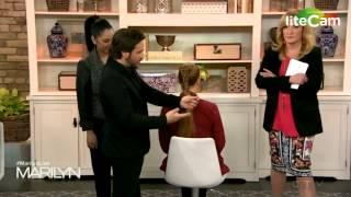 TAZ Hair Salon  - Rino on The Marilyn Denis Show (Jan-23.2015)