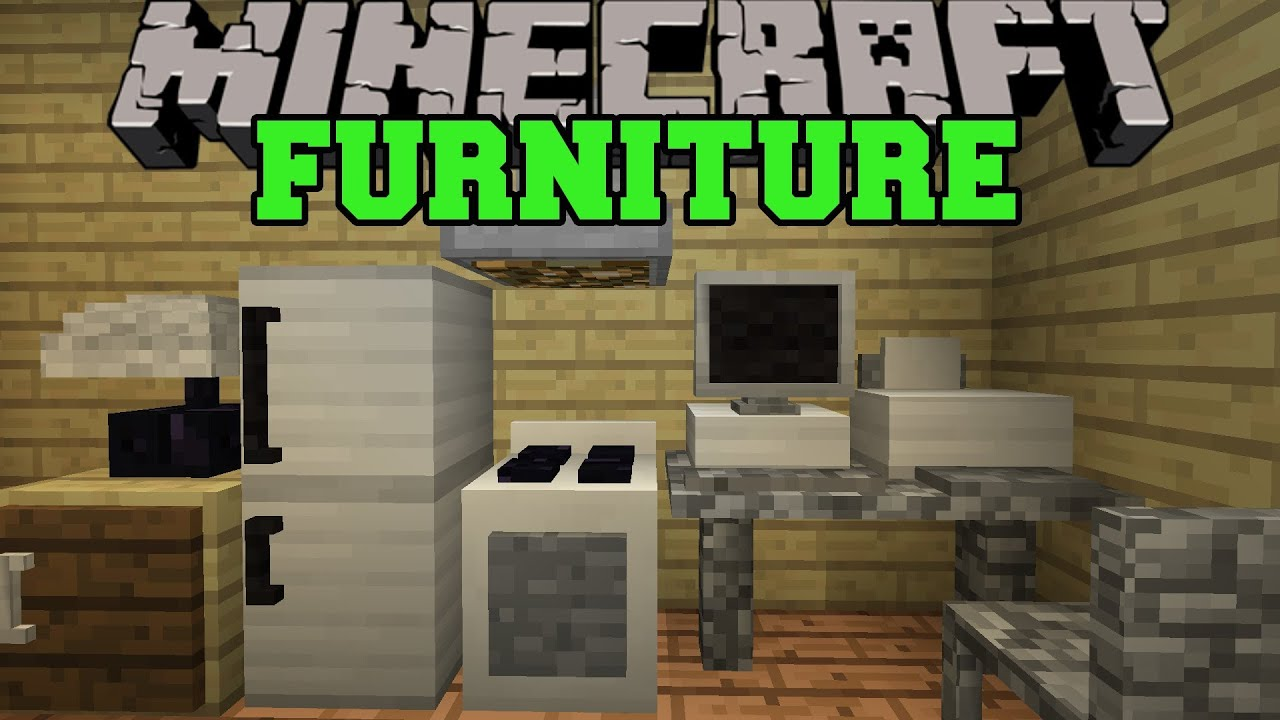 minecraft furniture kitchen images