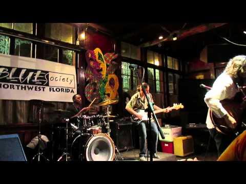 Blues Society of NW FL Monday night jam host - Jeff Jensen Band 2/16/2015