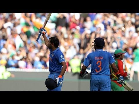 2015 WC: Rohit Sharma on scoring 137 vs Bangladesh