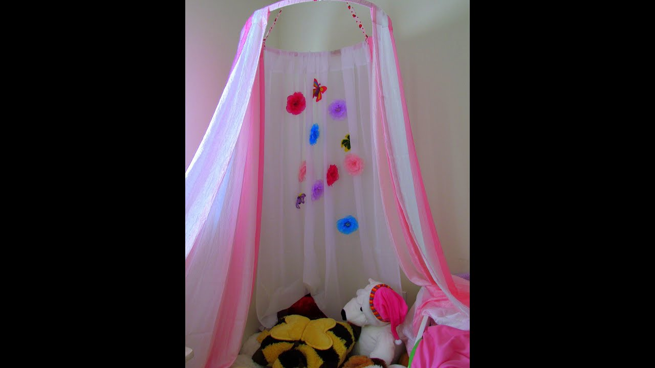How To Make A No Sew Canopy Tent Diy Kid 39 S Canopy Play