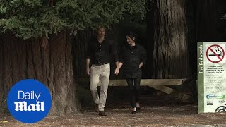 Harry and Meghan finish royal tour with forest walk in Rotorua