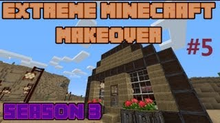 Extreme Minecraft Makeover - ╰☆╮Extreme Minecraft Makeover Season 3 - Ep 5 - BANK!