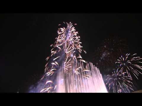 Новогодний фейерверк в Дубаи 2014! HDTV 1080i