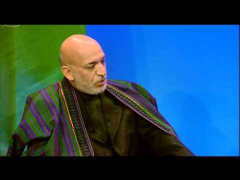 President Obama Meets with President Karzai at NATO Summit in Chicago
