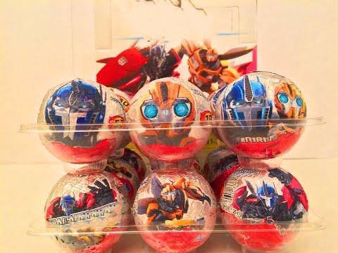 Киндер Яйца Сюрприз Трансформеры.Unboxing Kinder Eggs Surprise Transformers Prime