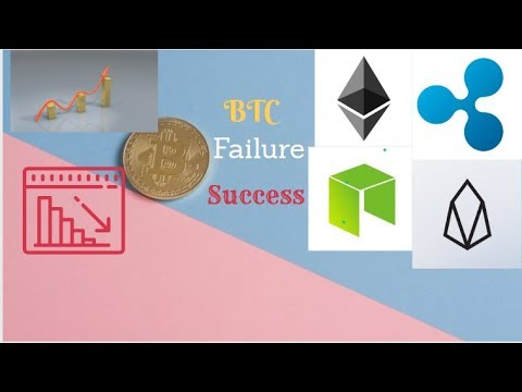 Why Bitcoin may  fail : the case for EOS ETH XRP NEO growth