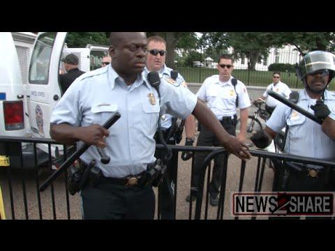 D.C. Palestine Protest Turns Violent