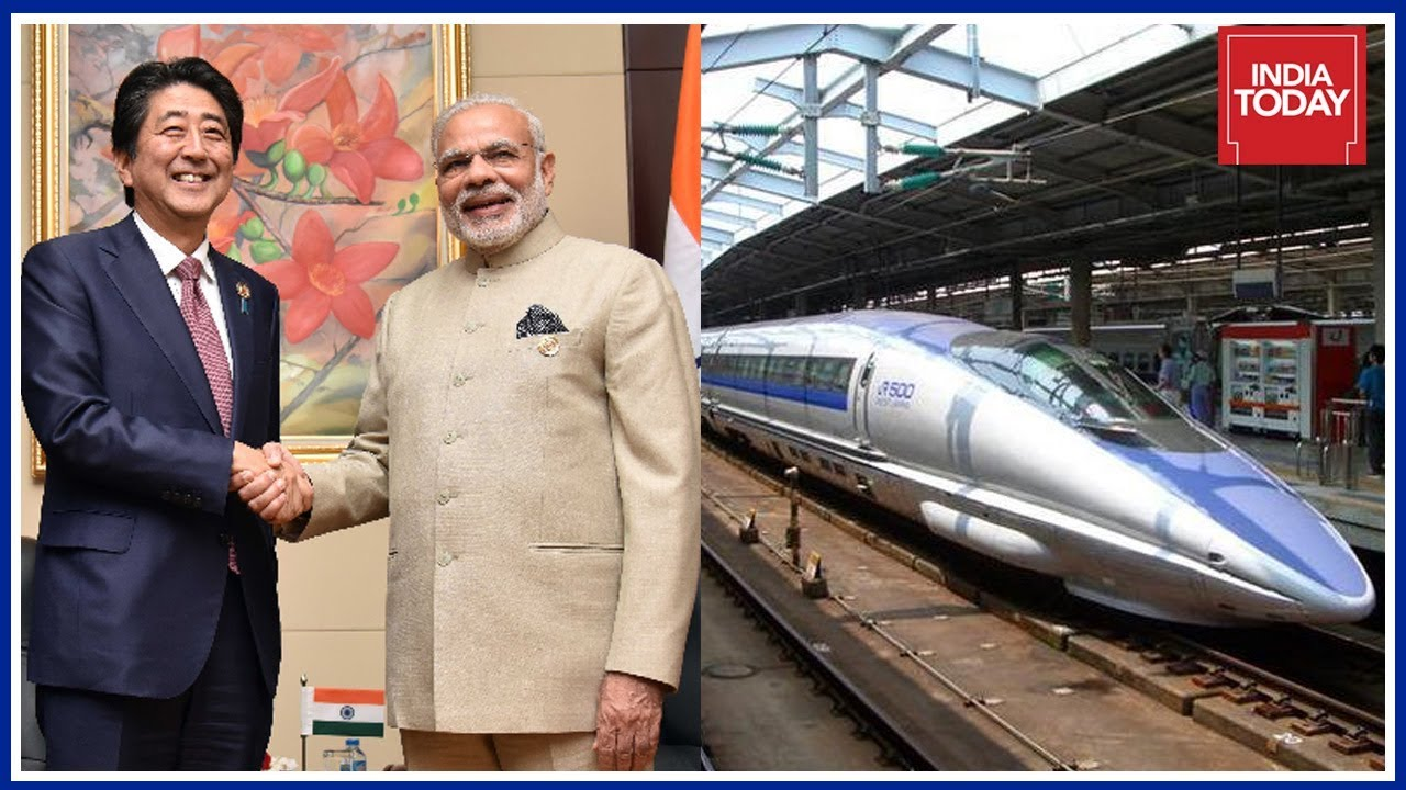 Indo-Japan Relation Bonded By Fast Bullet Train Pact