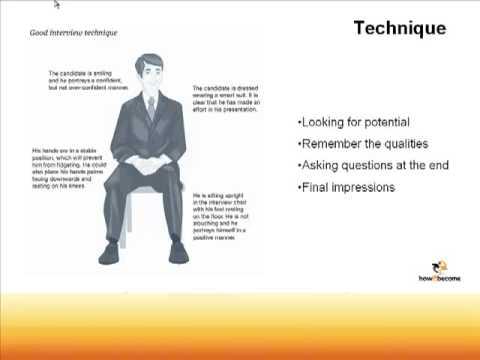 Job Interview Techniques - Tips & Advice