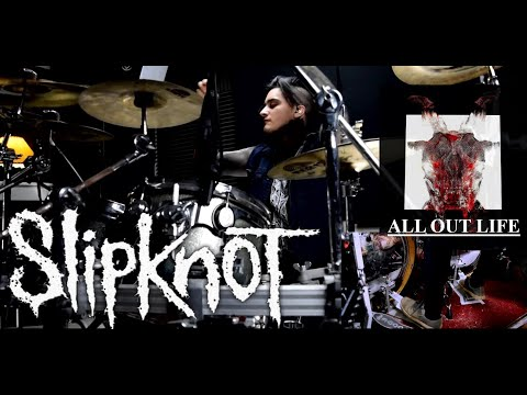 """Slipknot """"All Out Life"""" PERFECT Drum Cover??? thumbnail"""