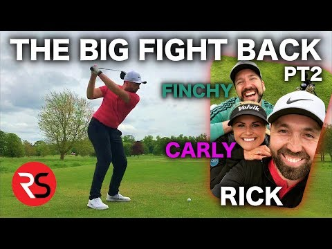 RICK SHIELS ON THE FIGHT BACK Vs Carly Booth & Peter Finch Pt 2